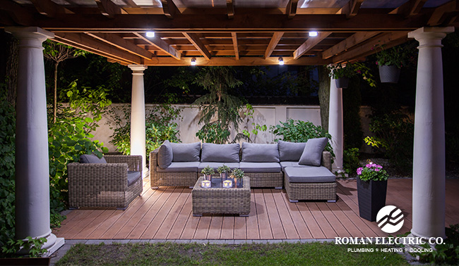 Lighting Tips For Your Outdoor Patio Roman Electric